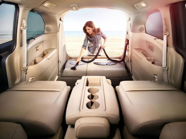 May hut bui Honda Odyssey 2016