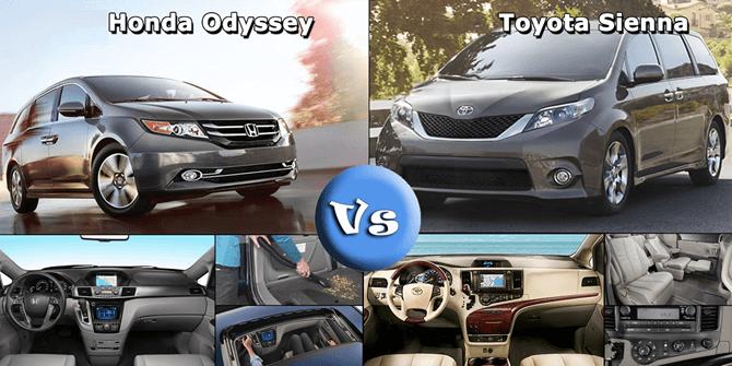 Co non mua Honda Odyssey thay vi Toyota Sienna