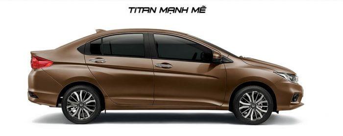 honda city 2017 mau titan manh me