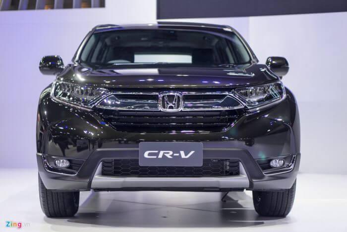 Dau Xe Honda Cr V 2017
