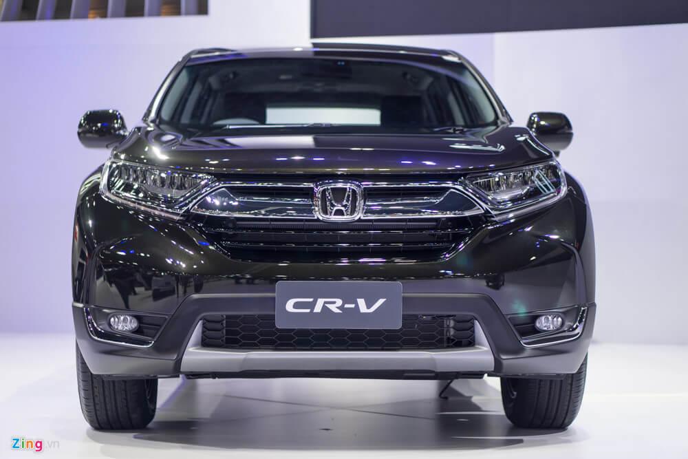 Honda Cr V 2018 Hoàn Toàn Mới Nâng Cấp Diện Với động Cơ Tăng áp 190 Mã Lực