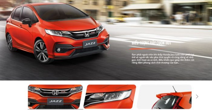 ngoai that honda jazz day cuon hut