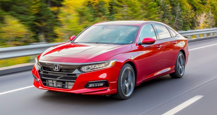 Honda Accord 2018 tu tin dan dau