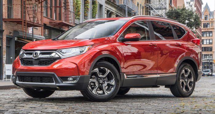 Xe SUV Honda CR-V 2018 va chien thang tham lang