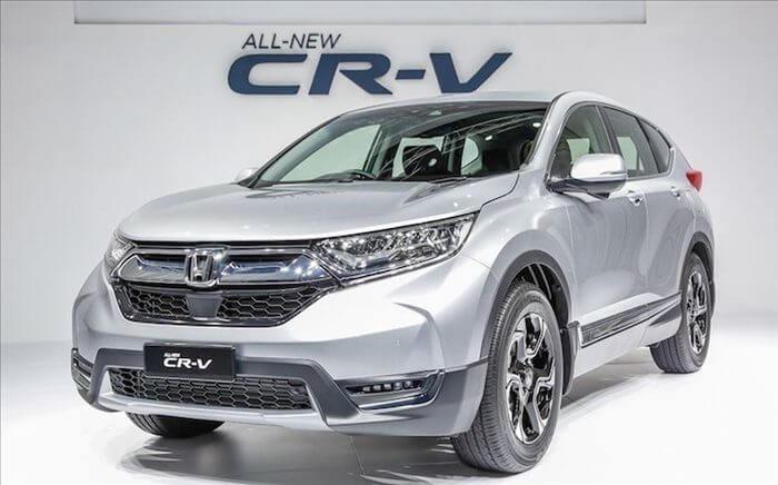Gia Honda CR-V thang 1 nam 2018 tang 200 trieu